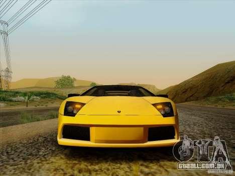Lamborghini Murcielago LP640-4 para GTA San Andreas vista direita