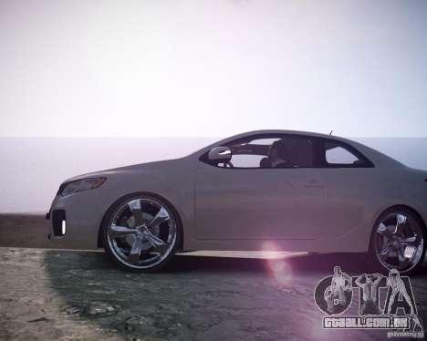 Kia Cerato Koup 2011 para GTA 4 vista direita