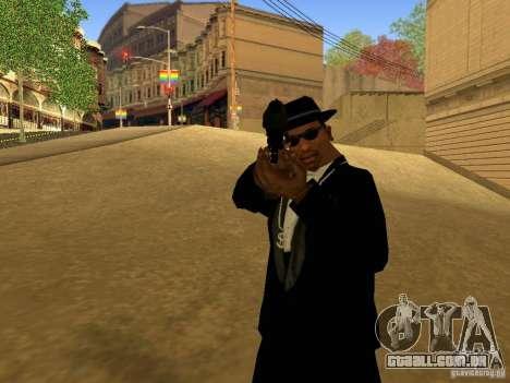 Desert Eagle MW3 para GTA San Andreas quinto tela