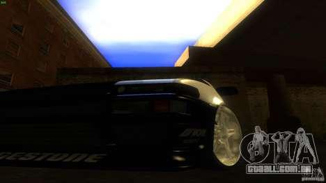 Toyota AE86 Trueno Touge Drift para GTA San Andreas vista interior