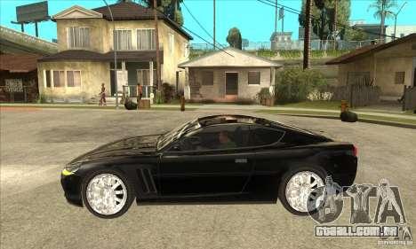 GTA IV SuperGT para GTA San Andreas esquerda vista