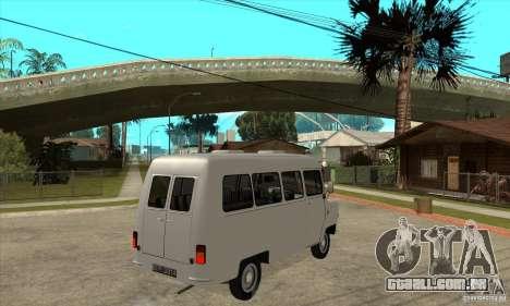 FSD Nysa 522 para GTA San Andreas vista traseira