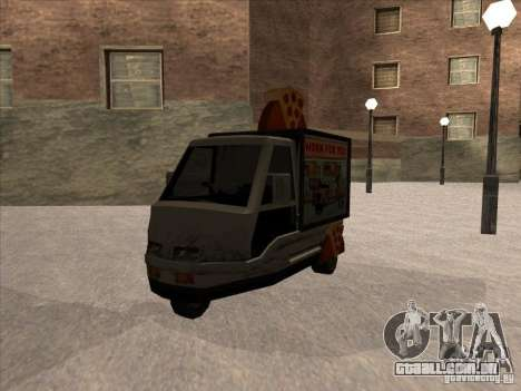 Sweeper Pizza Boy para GTA San Andreas