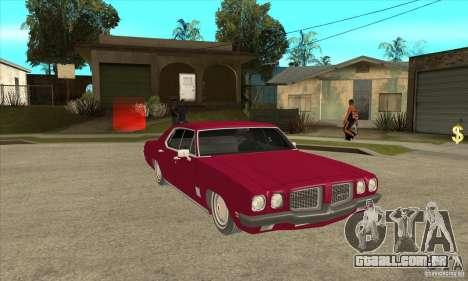 Pontiac LeMans para GTA San Andreas vista traseira