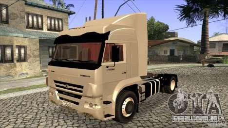 KAMAZ 5460 3420 Euro Turbo para vista lateral GTA San Andreas