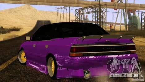 Subaru Legacy Drift Union para GTA San Andreas esquerda vista