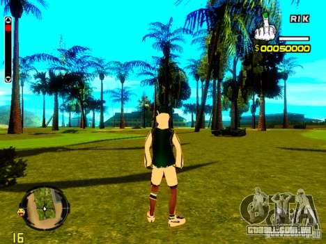 Pele vagabundo v5 para GTA San Andreas terceira tela