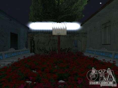 A nova Grove Street para GTA San Andreas nono tela