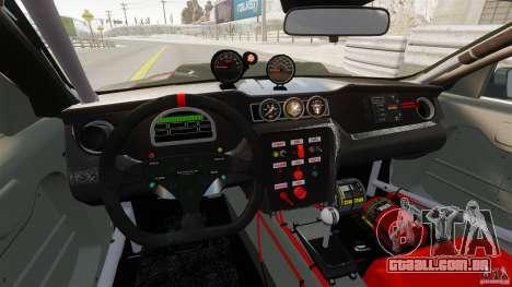 Ford Mustang 2010 GT1 para GTA 4 vista direita