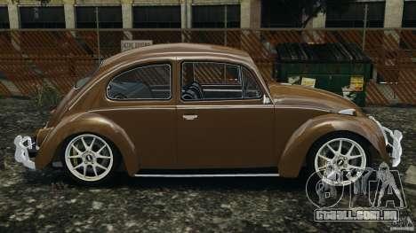Volkswagen Fusca Gran Luxo v2.0 para GTA 4 esquerda vista
