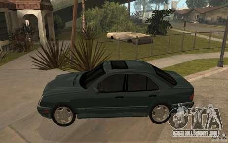 Mercedes-Benz E420 W210 1997 para GTA San Andreas esquerda vista