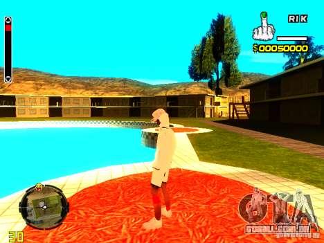 Pele vagabundo v9 para GTA San Andreas sexta tela