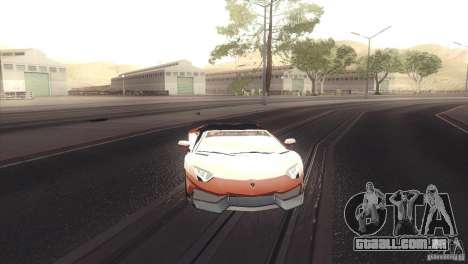 2013 Lamborghini Aventador LP700-4 Roadstar para GTA San Andreas esquerda vista