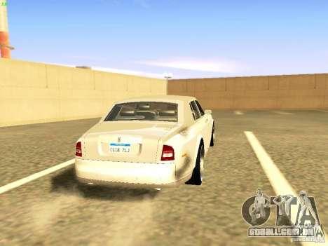Rolls-Royce Phantom V16 para GTA San Andreas esquerda vista