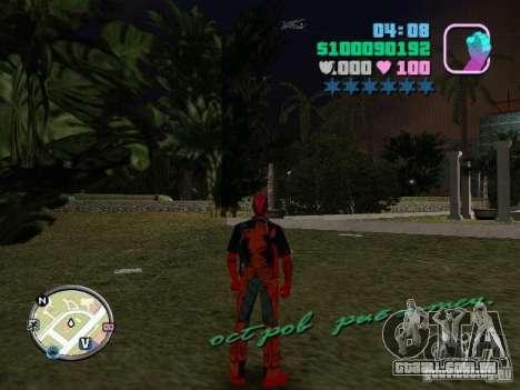 Deadpool para GTA Vice City segunda tela