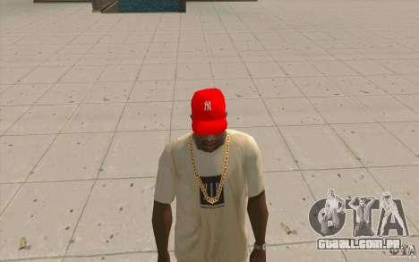 Newyorkyankiys tampa vermelha para GTA San Andreas segunda tela