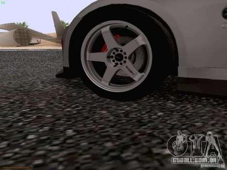 Nissan 350Z Nismo S-Tune para GTA San Andreas interior