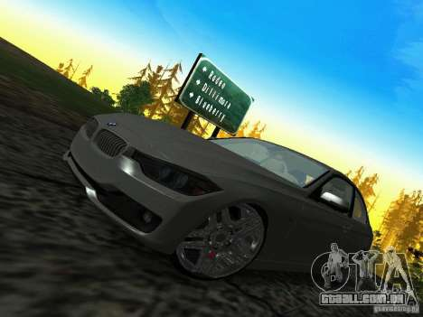 BMW 335i F30 Coupe para GTA San Andreas