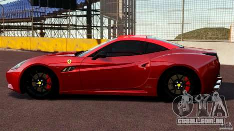 Ferrari California Novitec para GTA 4 esquerda vista