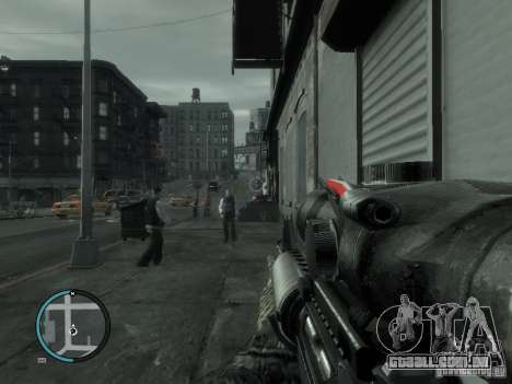 O M4a1 para GTA 4 segundo screenshot