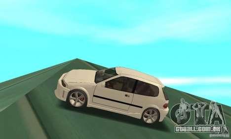 Honda Civic SiR II Tuning para GTA San Andreas esquerda vista