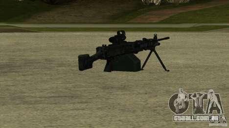 M240 para GTA San Andreas
