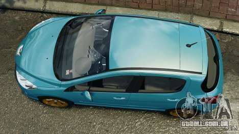 Peugeot 308 GTi 2011 v1.1 para GTA 4 vista direita