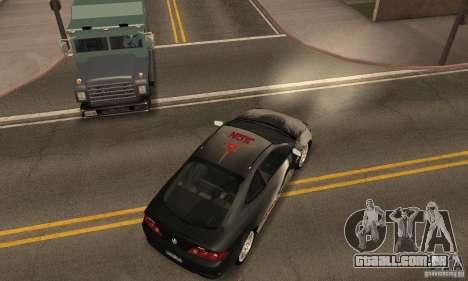 Acura RSX New para GTA San Andreas vista inferior