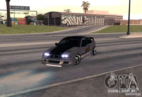 BMW M3 MyGame Drift Team para GTA San Andreas
