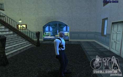 Agent 47 para GTA San Andreas quinto tela