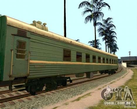 O carro das ferrovias russas 2 para GTA San Andreas