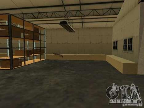 Renovação da base militar nas docas para GTA San Andreas sexta tela