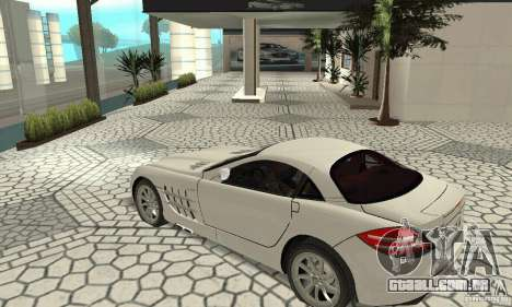 Mercedes-Benz McLaren V2.3 para GTA San Andreas vista interior