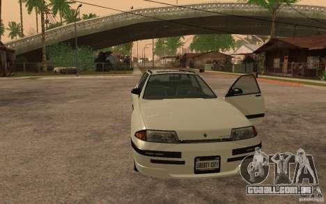 Estrato de GTA IV para GTA San Andreas traseira esquerda vista