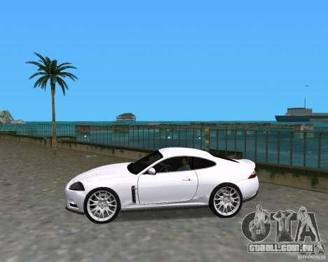 Jaguar XKR S para GTA Vice City deixou vista