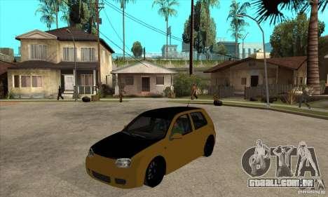 VW Golf 4 R32 para GTA San Andreas