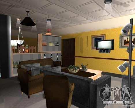 New Interior of CJs House para GTA San Andreas décimo tela