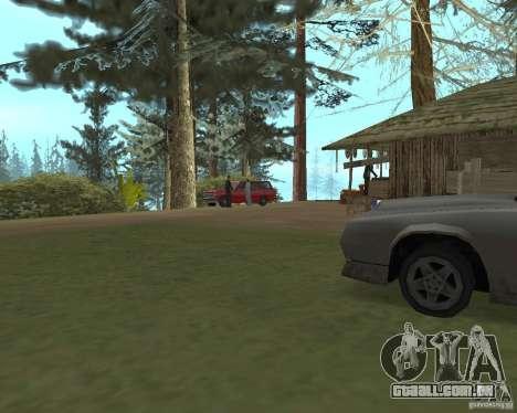 Em uma visita a vovó para GTA San Andreas segunda tela