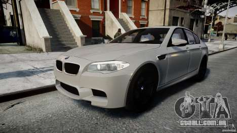 BMW M5 F10 2012 para GTA 4