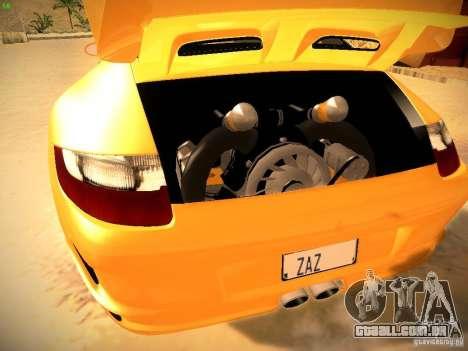 Porsche 911 para GTA San Andreas vista inferior