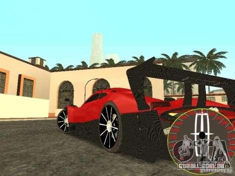 Velocímetro novo Lincoln para GTA San Andreas segunda tela
