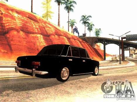Dreno de 2101 VAZ para GTA San Andreas vista direita