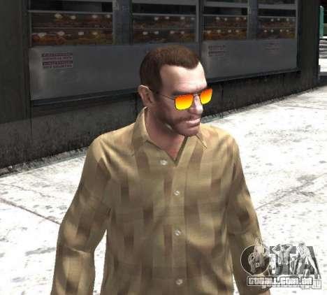 Sunnyboy Sunglasses para GTA 4 terceira tela