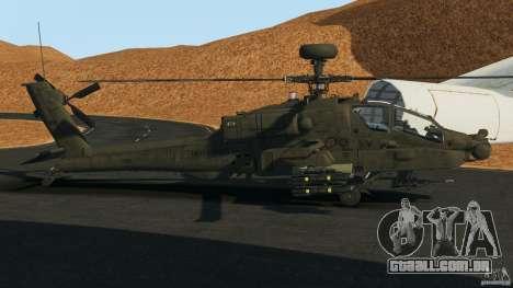 Boeing AH-64 Longbow Apache v1.1 para GTA 4 esquerda vista