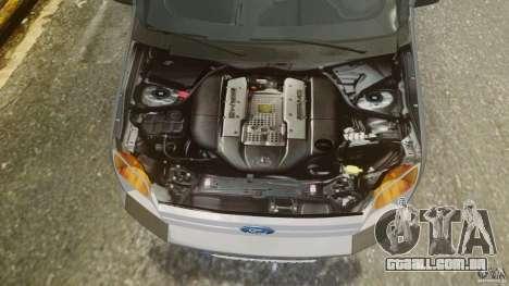 Ford Connect 2007 para GTA 4 vista de volta