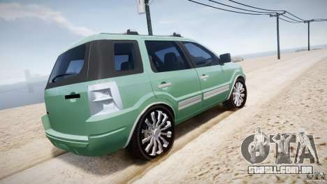 Ford EcoSport para GTA 4 motor