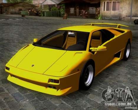 Lamborghini Diablo VTTT Black Revel para GTA San Andreas