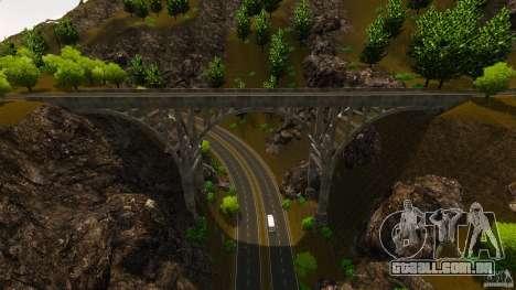 Countryside Mountains V para GTA 4 por diante tela