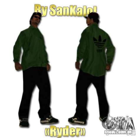New Sweet, Smoke and Ryder v1.0 para GTA San Andreas por diante tela