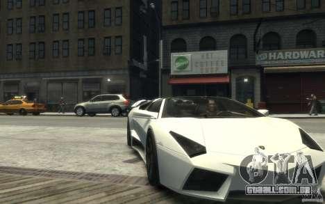 Lamborghini Reventon Roadster REDUX [EPM] para GTA 4 vista de volta